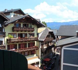 Ausblick vom Zimmer Richtung See Hotel Zimmerbräu