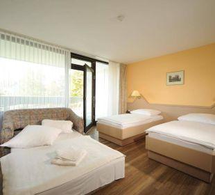 Zimmer mit Aufbettung Kategorie Standard Haus 3 Familotel Hotel Sonnenhügel