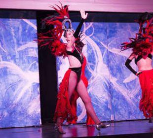 Show am Abend allsun Hotel Eden Playa