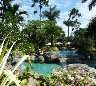 Tropischer Garten Villas Parigata Resort