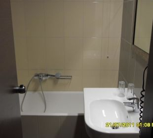 Ausschnitt vom Badezimmer Hotel Fortezza