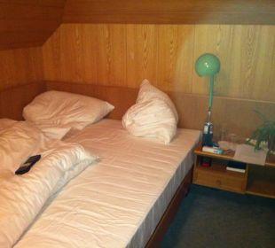 Keine Jugendherberge sondern unser Hotelzimmer Hotel Appenzellerhof