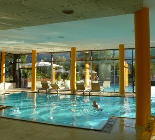 Große Poolanlage Hotel Travel Charme Fürstenhaus Am Achensee