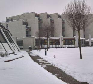 Außenansicht im Winter 2 Parkhotel Brunauer