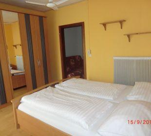 Schlafzimmer Hotel Menüwirt