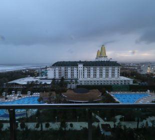 Ausblick vom Balkon Hotel Delphin Imperial
