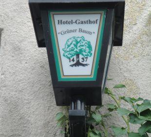 Aussenbeleuchtung Hotel Grüner Baum