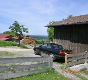 Parkplatz der FeWo Oberulpointhof