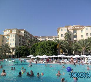 Außenansicht mit Pool Club Sidera (Vorgänger-Hotel – existiert nicht mehr)