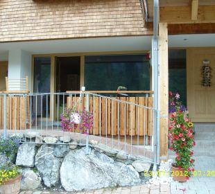 Blick auf unserer Wohnung Ferienwohnung Damülser Holzhus