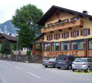 Staßenseite vom Haus Hotel Landgasthof Lilie