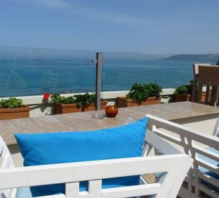"""Dachterrasse a. d. """"Hotel Corissia Princess"""" Hotel Corissia Beach"""
