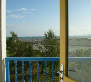Widok z pokoju Hotel Medi Sea