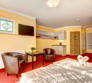 Appartementzimmer mit Pantry Aparthotel Strandhus