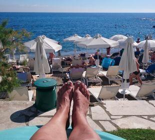 Ausblick Hotel Golden Beach