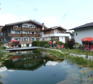 Hotel Hubertus - Gartenansicht Landgasthof Reitherwirt & Jagdhof Hubertus