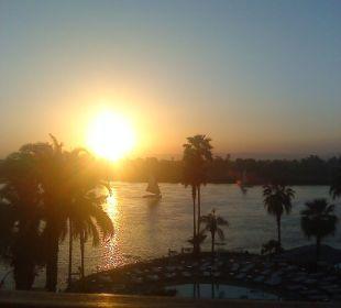 Ein schöner Tag geht zu Ende Achti Resort Luxor