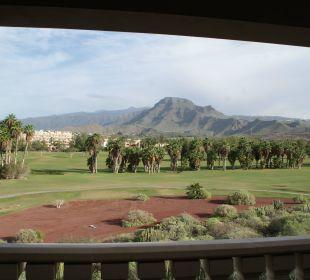 Sehr schöner Ausblick auf den Golfplatz und Berge Marylanza Suites & Spa