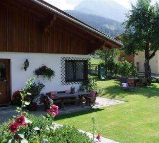 Gartenanlage Ferienhaus Monika Winter