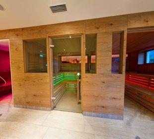 Sauna mit Lichtspiel Hotel Liebes Caroline