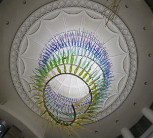 Glasdeko im Eingang Hotel Rixos Premium Tekirova