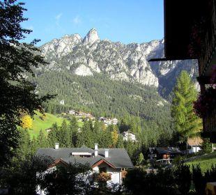 Hotel Stefaner - Blick vom Balkon in die Umgebung. Naturpark Hotel Stefaner