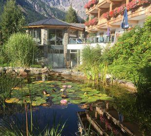 Gartenanlage Hotel Almhof