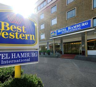 Außenansicht Best Western Hotel Hamburg International