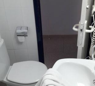 Bad von der Dusche aus JS Hotel Horitzó