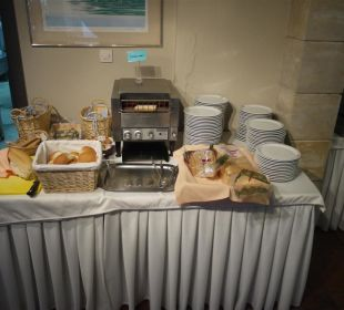 Frühstücksbuffet Hotel Fortezza