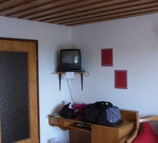 Unser Zimmer war schön gestaltet Pension Haus Hochstein