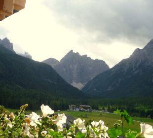 Ausblick ins Fischleintal Biovita Hotel Alpi