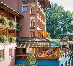 Terrasse Hotel Montafoner Hof