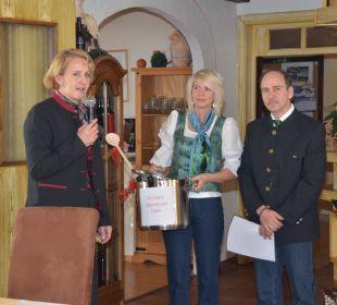Auszeichnung für den Betrieb Hotel Lanz