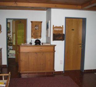 Rezeption Aparthotel Spitzer