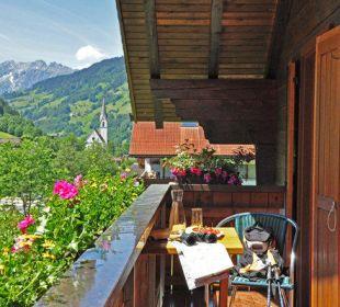 Balkon Ferienwohnung Winkler