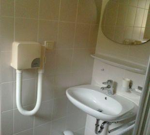 Dusche Einzelzimmer Hotel Bellevue