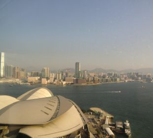 Blick aus dem Zimmer Renaissance Harbour View Hotel Hong Kong