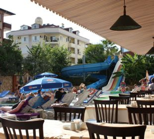 Restaurantausblick Club Big Blue Suite Hotel