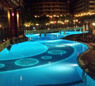 Das Royal Dragon bei Nacht  Hotel Royal Dragon