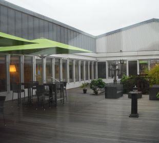 Terrasse Sheraton Düsseldorf Airport Hotel