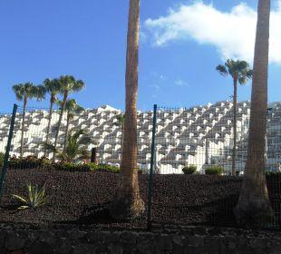 Blick auf das angrenzende Hotel Hotel XQ El Palacete