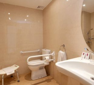 Disabled bathroom  JS Hotel Yate