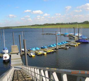 Tretboot-und Segelbootverleih Alfsee Ferien- und Erholungspark - Ferienhäuser