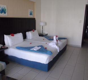 Zimmer nach Trinkgeldgabe Hotel Reef Oasis Blue Bay