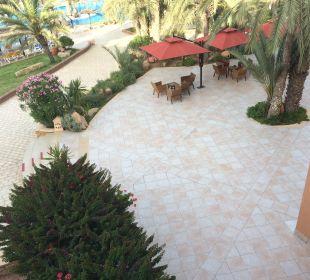 Gartenanlage Hotel Safira Palms