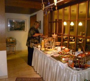 Gutes und schmackhaftes Frühstücksbuffet Gästehaus Sanssouci