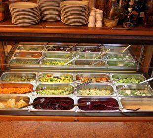 Salatbuffet Gasthof Brauner Hirsch Sophienhof