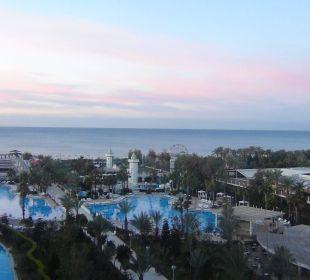 Unser Ausblick vom Zimmer Hotel Delphin Imperial