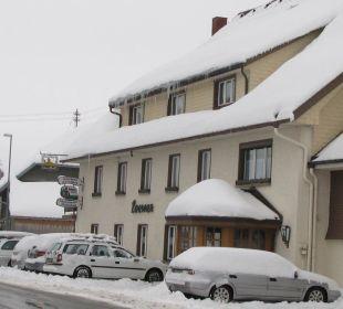 Pension Löwen im Schnee Gasthaus Löwen